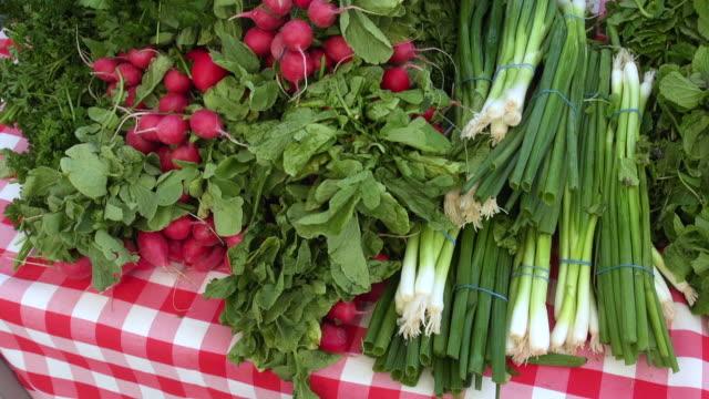 Vegetables sold at Farmers Market