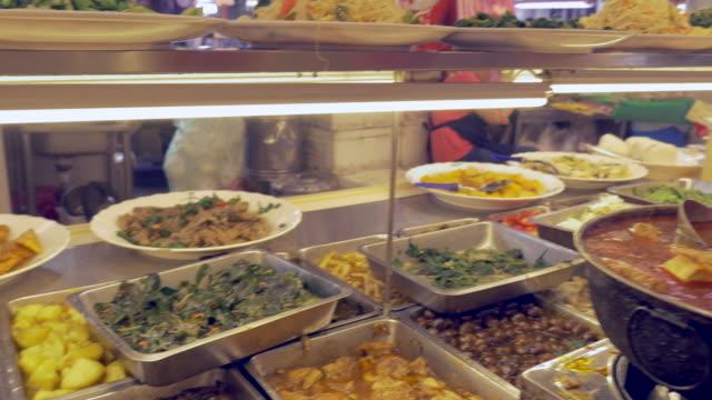 Vegetarian buffet in Taipei, Taiwan