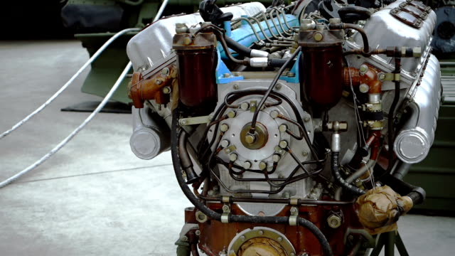 vehicle engine at service deck - engine control unit stock videos and b-roll footage