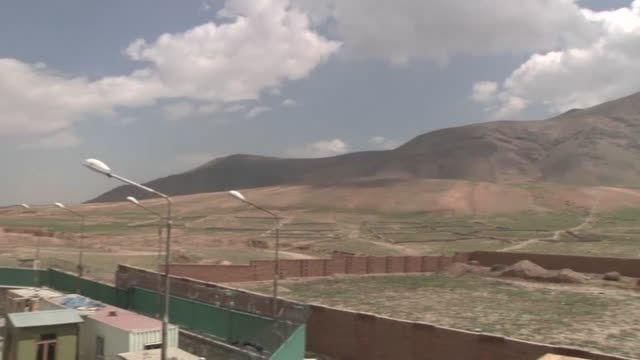 vehicle searches are conducted at the gates of kabul by the afghan national police under the guidance of the us police advising detachment from camp... - kabul stock-videos und b-roll-filmmaterial
