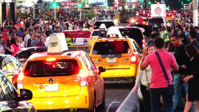 Vehicular Traffic, Times Square, New York City