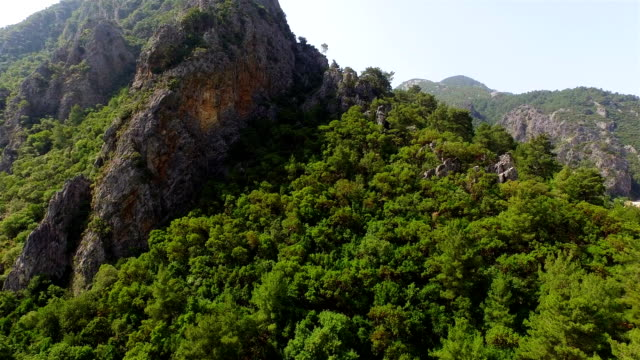 veiw of greek olympus mountain in clear day - greece stock videos & royalty-free footage