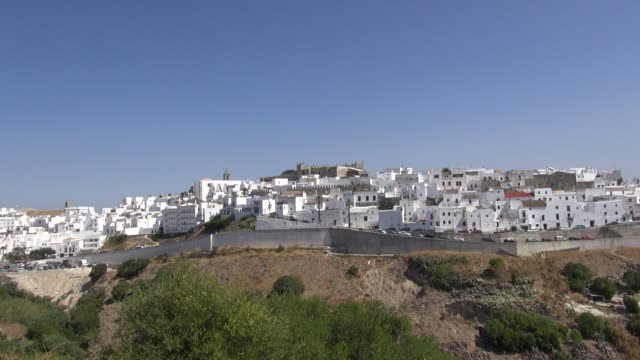vejer de la frontera is a town steeped in history used as a fortress town by the phoenicians later by the romans and then underwent five centuries of... - romans stock videos and b-roll footage
