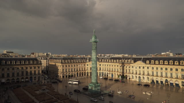 stockvideo's en b-roll-footage met vendome sunny - colonne vendome
