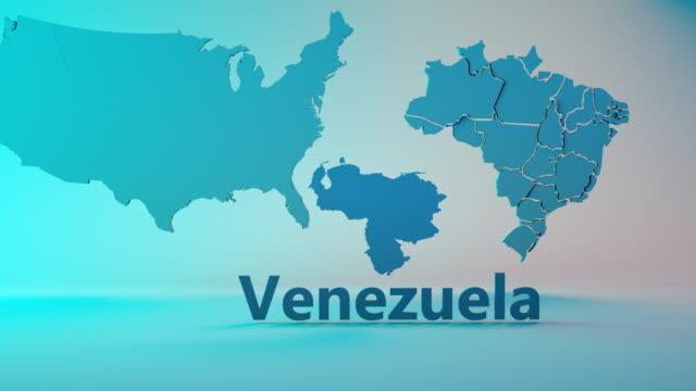 vidéos et rushes de conflit au venezuela - arme de destruction massive