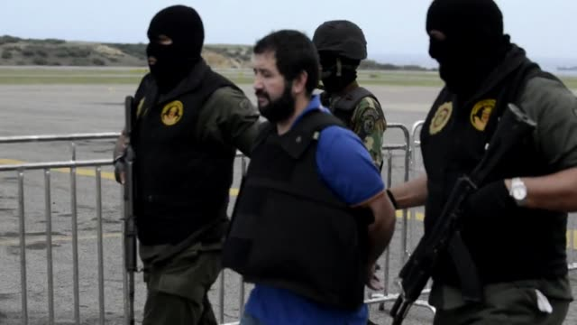 venezuela deported one of latin americas most wanted drug dealers to colombia on wednesday daniel barrera barrera known as mad barrera whose criminal... - criminal stock videos & royalty-free footage