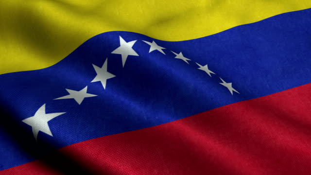 venezuela flag - venezuela stock videos & royalty-free footage