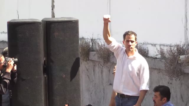 Venezuela prepares for a nationwide day of protests on January 23 as Venezuela's National Assembly president Juan Guaido asks demonstrators to fill...