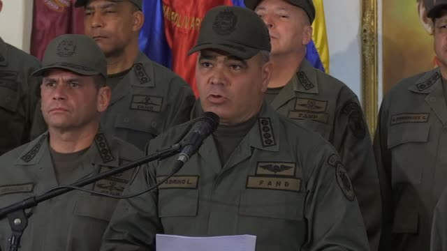 venezuelan defense minister vladimir padrino reiterate unrestrictedly obedience subordination and loyalty to the president nicolas maduro as the... - subordination stock videos & royalty-free footage