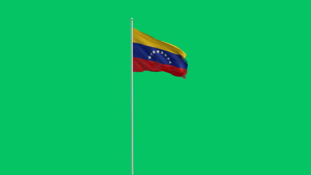 venezolanische Rising flag
