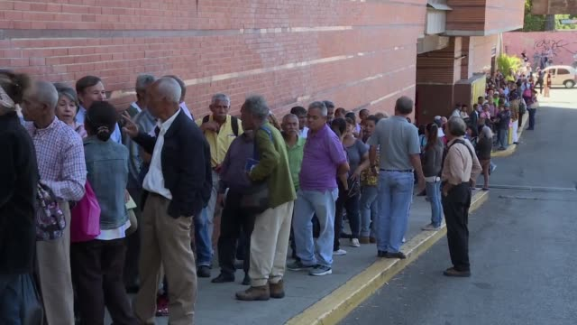 venezuelan old aged pensioners struggle to make ends meet with their pensions of less than 6 dollars which many say is not enough to cover their... - dependency stock videos & royalty-free footage