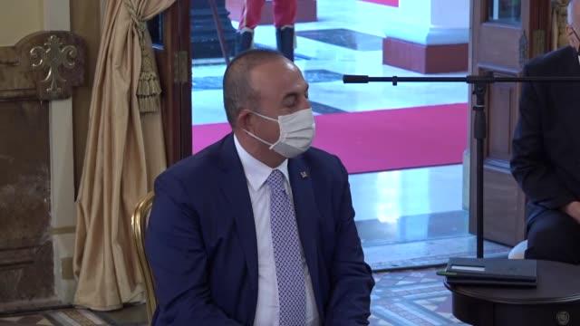 caracas venezuela aug 18 2020 venezuelan president nicolas maduro has received tuesday aug 18 turkey's foreign minister mevlut cavusoglu in caracas... - maduro stock videos & royalty-free footage