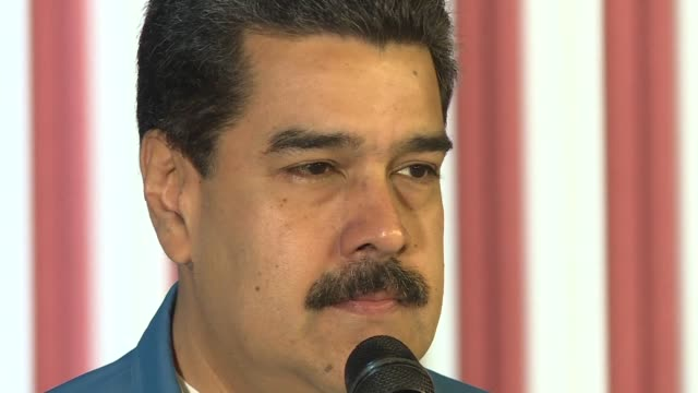 venezuelan president nicolas maduro on saturday said a deal with the opposition is ready to be signed and called for the electoral body and the... - maduro stock videos & royalty-free footage