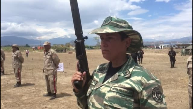 venezuelan troops conduct exercises on the border with colombia as the country tries to stem drug and human trafficking - drug trafficking stock videos & royalty-free footage