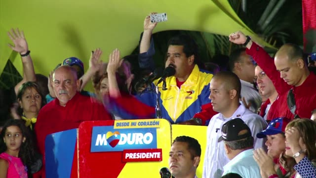 Venezuelas acting President Nicolas Maduro was declared the winner of the election to succeed his late mentor Hugo Chavez by a razor thin margin late...