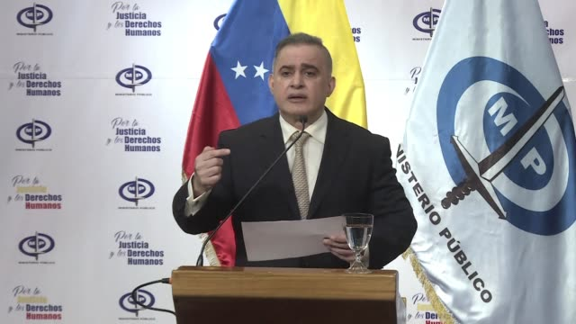 venezuela's attorney general tarek william saab opens an investigation into citizens who were appointed directors of citgo the usbased subsidiary of... - generalstaatsanwalt stock-videos und b-roll-filmmaterial