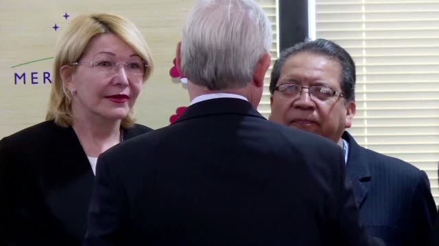 venezuela's fugitive ex chief prosecutor luisa ortega arrived in the brazilian capital wednesday to attend a meeting of the general prosecutors of... - mercosur stock videos & royalty-free footage