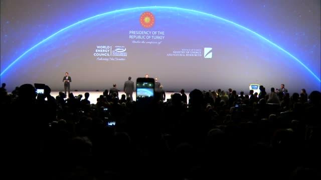 venezuela's president nicolas maduro turkey's president recep tayyip erdogan russia's president vladimir putin azerbaijan's president ilham aliyev... - maduro stock videos & royalty-free footage