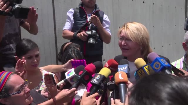 venezuela's sacked attorney general luisa ortega a strident critic of president nicolas maduro arrived in colombia immigration officials say - critic stock videos & royalty-free footage