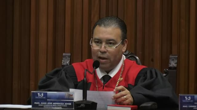 venezuela's supreme court rejects a vote by the opposition led national assembly to re join a regional defense treaty that could provide a legal... - legal defense stock videos and b-roll footage