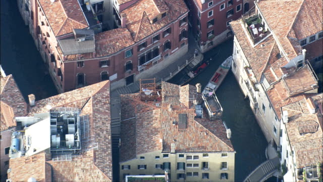 venice - aerial view - veneto, venice, italy - overhead projector stock videos & royalty-free footage