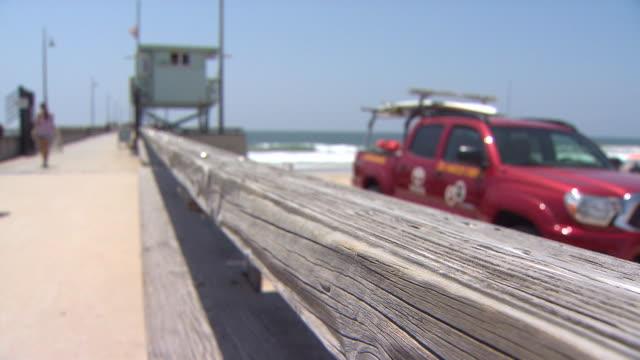 venice beach boardwalk. - boardwalk stock videos & royalty-free footage
