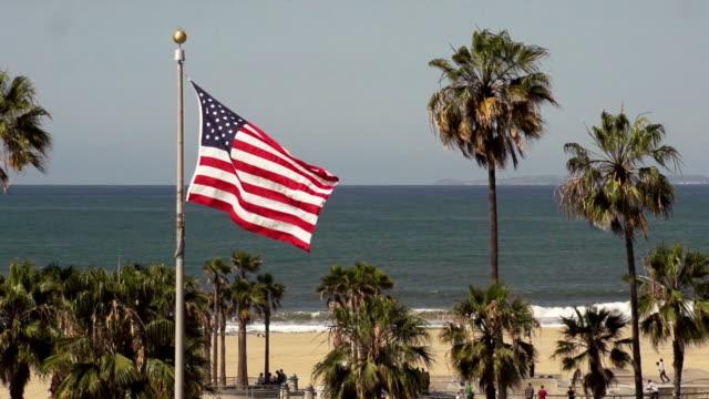 venice ビーチのランドマーク - カリフォルニア州 ベニス点の映像素材/bロール