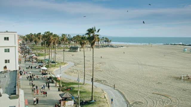 venice beach skate park, california - südkalifornien stock-videos und b-roll-filmmaterial