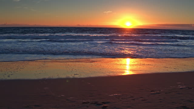venice beach sunset - venice california stock videos & royalty-free footage