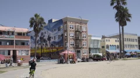 venice beach - ベニスビーチ点の映像素材/bロール