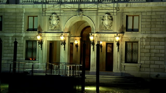 venice, building grassi - art gallery stock videos & royalty-free footage