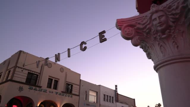venice california - カリフォルニア州 ベニス点の映像素材/bロール