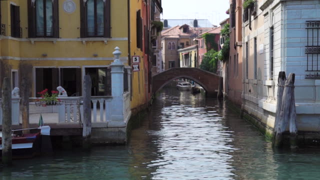 venice - canal - grand canal venice stock videos & royalty-free footage