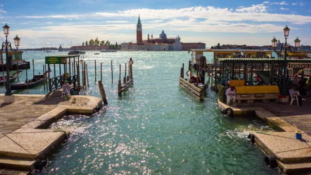 vídeos y material grabado en eventos de stock de lugar famoso de venecia en italia - catedral