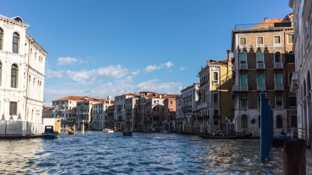 venice famous place in italy - speed boat stock videos & royalty-free footage
