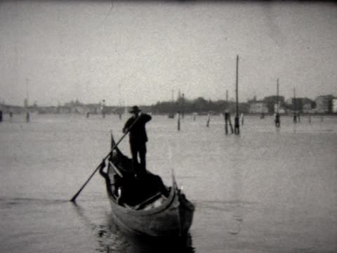 1929 venice fashion and street life - 1929 stock videos & royalty-free footage