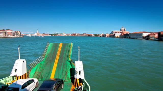 Venice Ferry Time Lapse