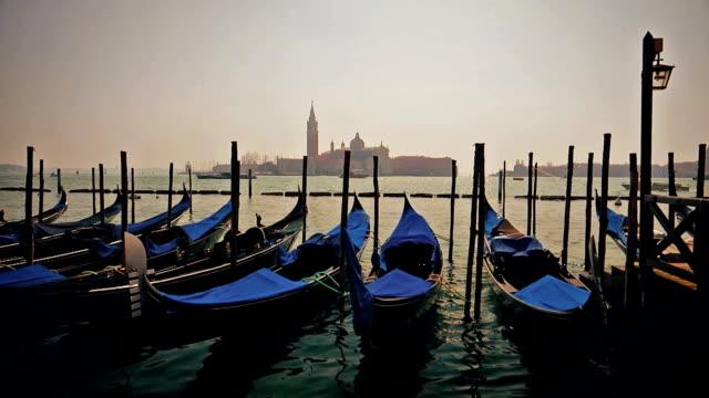 Venice Gondolas Grand Canal