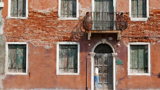 Venice, Italy, city of romance, typical venetian sights, part of series, travel destinations