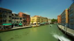Venice Santa Lucia Train Station Area