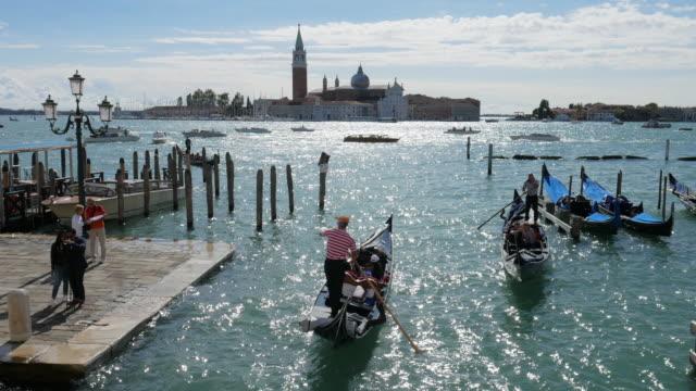 ヴェニス、ヴェネト州イタリア - ヴェネツィア点の映像素材/bロール