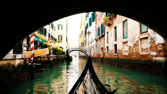 venice - canal stock videos & royalty-free footage