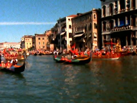 stockvideo's en b-roll-footage met venitian regatta ntsc - wedstrijdsport