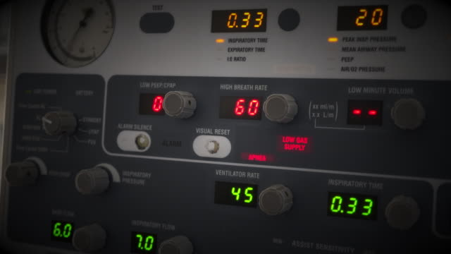 ventilator machine - respiratory machine stock videos & royalty-free footage