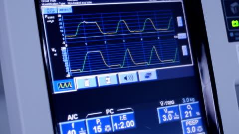vídeos de stock e filmes b-roll de ventilador - equipamento respiratório