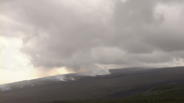 Venting fumaroles in Hawaii Volcanoes National Park.