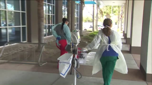 ktla ventura ca us outdoors test lab at ventura county medical center ventura county opened up several drivethru coronavirus test sites thursday as... - test drive stock videos & royalty-free footage