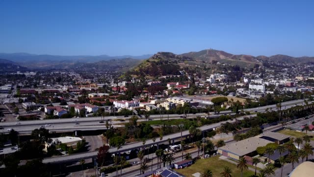 ventura california observed from the ocean. - ventura stock videos and b-roll footage