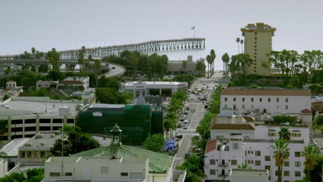 ws ha ventura cityscape, california, usa - ventura stock videos and b-roll footage