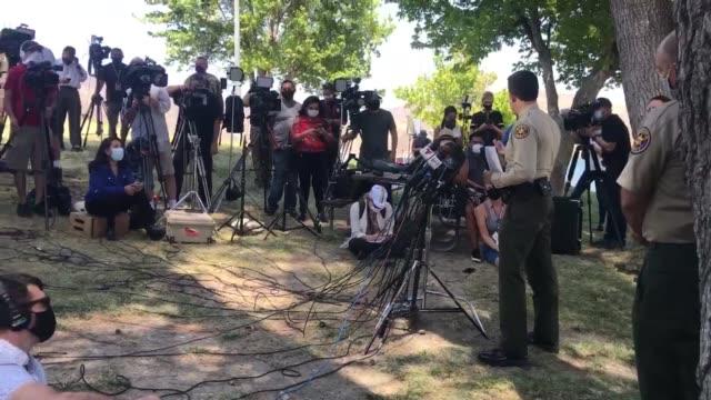 CA: Press Conference Held For Missing Actress Naya Rivera - July 13, 2020